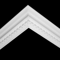 Nicholl Designers of Fine Plaster and Plaster Mouldings, Castlereagh Belfast Northern Ireland - Cornices - 120 - Decorative styled designs