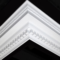 Nicholl Designers of Fine Plaster and Plaster Mouldings, Castlereagh Belfast Northern Ireland - Cornices - 102 - Decorative styled designs