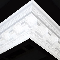 Nicholl Designers of Fine Plaster and Plaster Mouldings, Castlereagh Belfast Northern Ireland - Cornices - 101 - Decorative styled designs