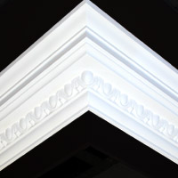 Nicholl Designers of Fine Plaster and Plaster Mouldings, Castlereagh Belfast Northern Ireland - Cornices - 104 - Decorative styled designs