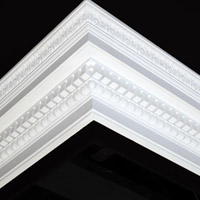 Nicholl Designers of Fine Plaster and Plaster Mouldings, Castlereagh Belfast Northern Ireland - Cornices - 122 - Decorative styled designs