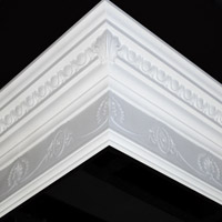 Nicholl Designers of Fine Plaster and Plaster Mouldings, Castlereagh Belfast Northern Ireland - Cornices - 127 - Decorative styled designs