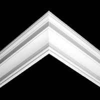 Nicholl Designers of Fine Plaster and Plaster Mouldings, Castlereagh Belfast Northern Ireland - Cornices - 124 - Plain styled designs