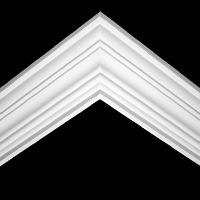 Nicholl Designers of Fine Plaster and Plaster Mouldings, Castlereagh Belfast Northern Ireland - Cornices - 195 - Plain styled designs