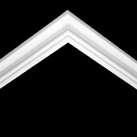 Nicholl Designers of Fine Plaster and Plaster Mouldings, Castlereagh Belfast Northern Ireland - Cornices - 200 - Plain styled designs
