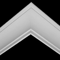 Nicholl Designers of Fine Plaster and Plaster Mouldings, Castlereagh Belfast Northern Ireland - Cornices - 204 - Plain styled designs