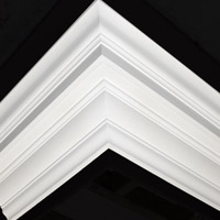 Nicholl Designers of Fine Plaster and Plaster Mouldings, Castlereagh Belfast Northern Ireland - Cornices - 174 - Plain styled designs