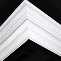 Nicholl Designers of Fine Plaster and Plaster Mouldings, Castlereagh Belfast Northern Ireland - Cornices - 172 - Plain styled designs