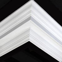 Nicholl Designers of Fine Plaster and Plaster Mouldings, Castlereagh Belfast Northern Ireland - Cornices - 173 - Plain styled designs
