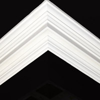 Nicholl Designers of Fine Plaster and Plaster Mouldings, Castlereagh Belfast Northern Ireland - Cornices - 113 - Plain styled designs