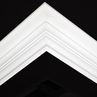 Nicholl Designers of Fine Plaster and Plaster Mouldings, Castlereagh Belfast Northern Ireland - Cornices - 114L - Plain styled designs