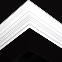 Nicholl Designers of Fine Plaster and Plaster Mouldings, Castlereagh Belfast Northern Ireland - Cornices - 114 - Plain styled designs