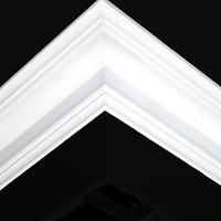 Nicholl Designers of Fine Plaster and Plaster Mouldings, Castlereagh Belfast Northern Ireland - Cornices - 115 - Plain styled designs