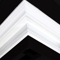 Nicholl Designers of Fine Plaster and Plaster Mouldings, Castlereagh Belfast Northern Ireland - Cornices - 116 - Plain styled designs