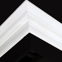 Nicholl Designers of Fine Plaster and Plaster Mouldings, Castlereagh Belfast Northern Ireland - Cornices - 116R - Plain styled designs