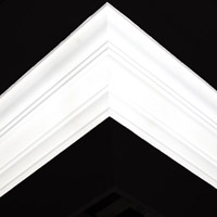 Nicholl Designers of Fine Plaster and Plaster Mouldings, Castlereagh Belfast Northern Ireland - Cornices - 134 - Plain styled designs