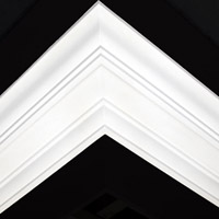 Nicholl Designers of Fine Plaster and Plaster Mouldings, Castlereagh Belfast Northern Ireland - Cornices - 135 - Plain styled designs