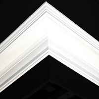 Nicholl Designers of Fine Plaster and Plaster Mouldings, Castlereagh Belfast Northern Ireland - Cornices - 137 - Plain styled designs