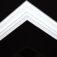 Nicholl Designers of Fine Plaster and Plaster Mouldings, Castlereagh Belfast Northern Ireland - Cornices - 114R - Plain styled designs