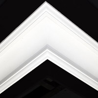 Nicholl Designers of Fine Plaster and Plaster Mouldings, Castlereagh Belfast Northern Ireland - Cornices - 144 - Plain styled designs