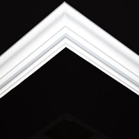 Nicholl Designers of Fine Plaster and Plaster Mouldings, Castlereagh Belfast Northern Ireland - Cornices - 156 - Plain styled designs