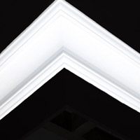 Nicholl Designers of Fine Plaster and Plaster Mouldings, Castlereagh Belfast Northern Ireland - Cornices - 145 - Plain styled designs